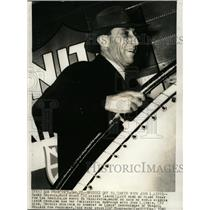 1940 Press Photo Harry Bridges Los Angels En Route West - RRW11399