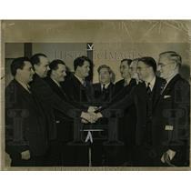 1940 Press Photo Morris Field Cornelius Quinn CG Edelen - RRW87707