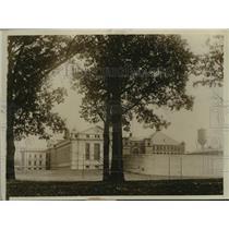 1930 Press Photo View of the Federal Penitentiary in Atlanta, Georgia.