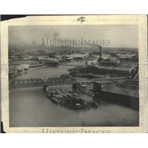 1924 Press Photo Manila waterfront, capital of Philippine Islands - mjb67720