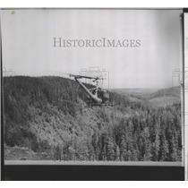 1963 Press Photo 1 of 4 helicopters used in spraying program in SW Washington
