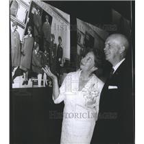 1965 Press Photo Steve Stimpson and Mrs. Ellen Church Marshall first stewardess.
