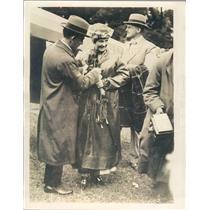 1919 Press Photo Chorley Wood England Mr Hamilton & Bride Miss Standen