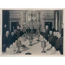 1922 Press Photo England Lord Mayor Luncheon of Ward Beadles - ner33191