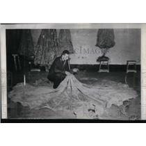 1946 Press Photo Aimonr Regoli Parachute Corps Rome - RRX20767
