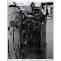 1963 Press Photo battle stations Missile Gene Jones USS - RRX69313