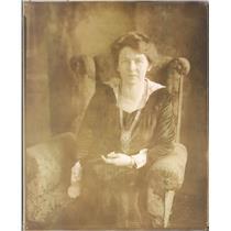 1920 Press Photo Chicago IL Suffragette Mrs HB Wiesner of Fort Wayne IN