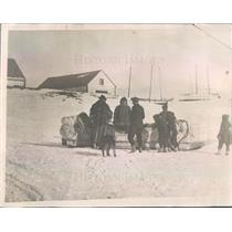 1921 Press Photo Moose Factory Canada Rescue Party To Aid Lost US Navy