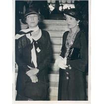 1932 Press Photo Chicago IL Alice Roosevelt Longworth, Mrs WH Wisner - ner57605
