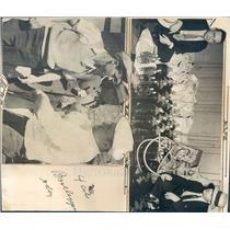 1931 Press Photo Denver CO Ptl Lawrence Stone Jr, HW Lowrance - rkf20213