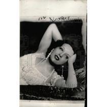 1933 Press Photo Silent Film Actress Estelle Taylor - RRW71299