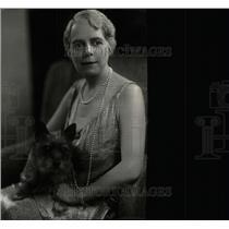 1931 Press Photo Lady Ronald Lindsay British Ambassador - RRW78547