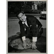 1961 Press Photo Sid Caesar GE Theater Sunday Devil - RRW13539