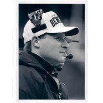 Press Photo NFL Cincinnati Bengals Head Coach Dave Shula snb8969