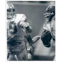 Undated Press Photo  Photo NFL Miami Dolphins Linebacker Doug Swift - snb9053