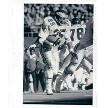 Press Photo NFL Philadelphia Eagles Running Back Anthony Toney - snb9625
