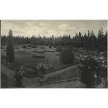 1933 Press Photo Garden at Manito Park - spa88127
