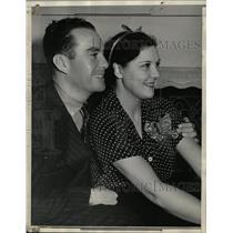 1936 Press Photo Lita Grey Chaplin Film Comedian - RRX66499