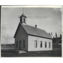 1893 Press Photo Summit School near Rockford before 1894 - spa95386