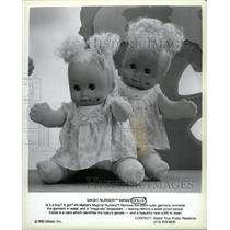 Press Photo Mattel Magic Nursery Infant Doll Boy Girl
