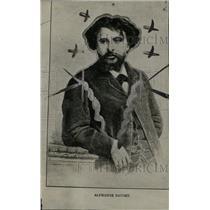 1927 Press Photo Alphonse Daudet French novelist father - RRW83137