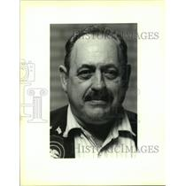 1994 Press Photo George Demarest, gun dealer at Gun Show in St. Bernard