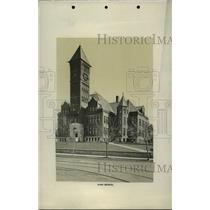 1900 Press Photo Historical High school building of Spokane - spb00199