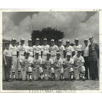 1968 Press Photo Baseball - American Bank Stars of Shreveport - nos03861