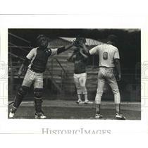 1982 Press Photo Baseball - Shamrock Players in American Legion Tournament