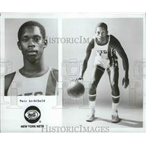 1977 Press Photo New York Nets Nate Archibald - nos03962