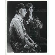 """Press Photo Los Angeles Dodgers manager Tom Lasorda appearing on """"Hee Haw"""""""