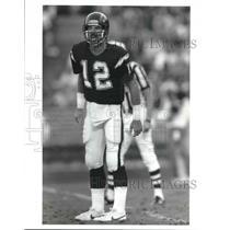 Press Photo San Diego Chargers football quarterback Babe Laufenberg - sas02013