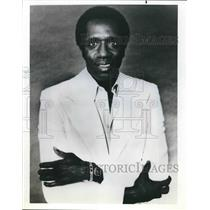 "Press Photo ""Hello, Larry"" star and former Harlem Globetrotter Meadowlark Lemon"