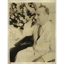 1938 Press Photo Samuel Wilder King,Hawaiian delegate to US Congress - sba17709