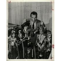 1962 Press Photo Ed Sullivan Piccoli Puppets - RRX65261