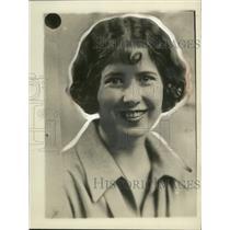 1928 Press Photo Margaret Haltigan of Washington DC - ney31149
