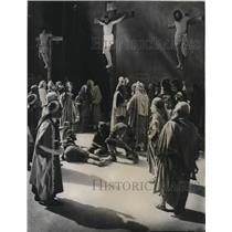 1930 Press Photo Passion Play in Oberammergau, Germany - mjx44202