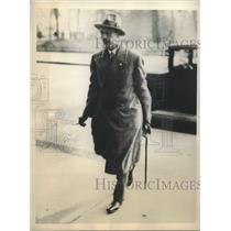 1931 Press Photo Prince August Wilhelm Arrives Fo the Opening Of The Reichstag