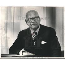 1975 Press Photo Finland's President Urho K. Kekkonen