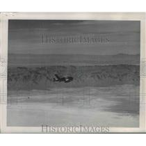 1953 Press Photo Ryan Firebee Pilotless Drone flies over New Mexico - nem48555