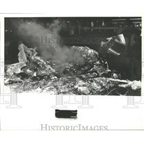 1978 Press Photo Airplane Crash Wreckage in Alabama - abna10219