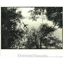 1982 Press Photo Pan American Flight 759 Before Crash - noa88813