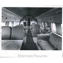 1985 Press Photo Corvair airplane, flying office of Kearney & Trecker, Milwaukee