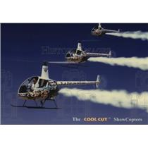 1997 Press Photo The Cool Cut ShowCopters - noo06121