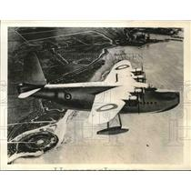 Press Photo The Sunderland, First of Great Britain's New Fleet of Planes