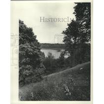 1973 Press Photo View of the Ice Age National Scientific Reserve