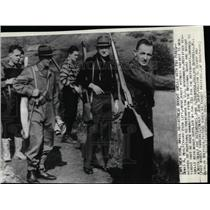 1940 Press Photo New York Denis Healy John Bishop FBI - RRX66591