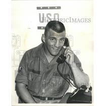 Press Photo USO Telephone Facility Vietnam - RRW37017