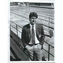 1984 Press Photo ABC Sports commentator Jim Lampley - sas02048