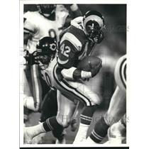 Press Photo Los Angeles Rams football running back Greg Bell - sas02071